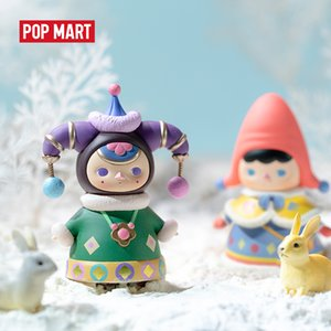 POP MART Pucky Winter babies Blind Box Doll Binary Action Figure Birthday Gift Kid Toy Action Figure Birthday Gift Kid Toy Q1123