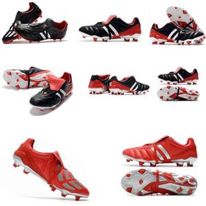 2020 Mens Cleaves de Futebol Prevoso Precisão FG Turf Botas de Futebol Predator Mania Champagne 6th Soccerers Sapatos Homem Sneakers