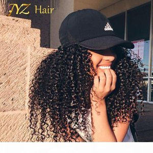 JYZ Cheap 130% Density Long Kinky Curly Full Lace Wig Virgin Mongolian Lace Front Wig Kinky Curly Human Hair Wigs For Black Women