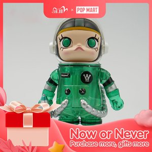 POP MART Mega Collection-Alien Molly 4 Limited Edition Cute Kawaii Vinyle Toy Action Figures Free Shipping