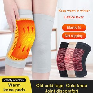 1 pair Knee Support Protector Leg Arthritis Gym Sleeve Elasticated Bandage knee Pad Knitted Kneepads Warm