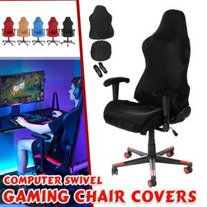 Elastico Impermeabile Gaming Electric Competition Chair Copre Ufficio domestico Internet caffetteria rotante braccioli Stretch Chair Casi