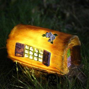 Led Solar Light with LED Garden Light Carriage Light Garden Outdoor Yard Lawn Lamp Decorative Lamp Induction Lamp Garden Decorat