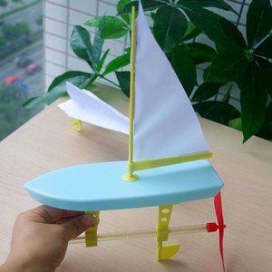 Бесплатная доставка практические возможности научно-исследовательские пропеллер резиновые полосы Power студент парусник автомобиль два в одном эксперименте Toy Science Challenge