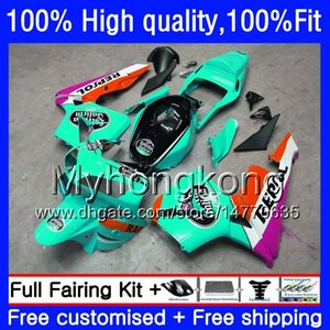 Injection OEM For HONDA CBR600RR CBR 600 CC 600F5 600CC 05-06 48HM.291 CBR600 RR Glossy cyan F5 05 06 CBR 600RR CBR600F5 2005 2006 Fairing