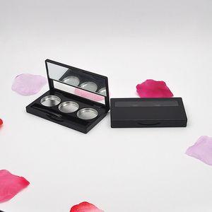 Women Eye Shadow Blusher Palette DIY Lipstick Lip Gloss Powder Foundation Empty Box with Window WB3082