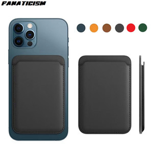 Fashion Wireless Charging Case For Magsafe Mgnetic Leather Case For iPhone 12 Pro iPhone 12 Pro Max 12 Mini Back Cover