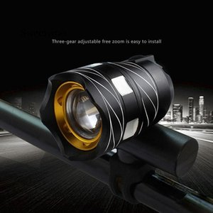 USB Rechargeable XML T6 LED Bicycle Bike Light Front Cycling Light Head Lamp bicycle zoomable adjustable rechargeable