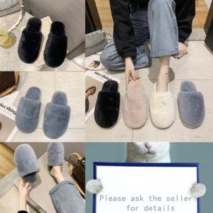 CdPu1 Fashion Summer Flip Flops Plush Cool knot Women Sandals Bow Jelly Flat slippers Slippers Girls Studded Woman designer Beach Slides