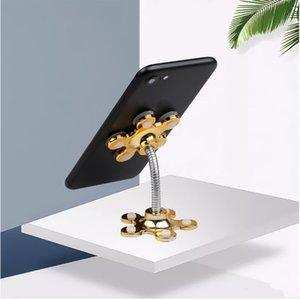 Soporte de la lechería Titular del teléfono de 360 grados Rotatable Ventosa Magic Soporte de teléfono móvil Soporte de coche Smartphone Tablets Holder YHM535