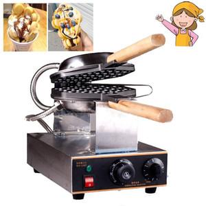 جودة عالية هونج كونج eggettes waffle صانع صغير المنزلية الكهربائية الساخنة الكلب شكل كعكة صانع الهراء
