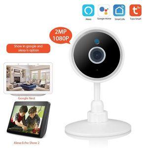 Cameras Tuya Smart Home Life WiFi 1080P IP Camera Wireless Network Remote Control Surveillance CCTV1