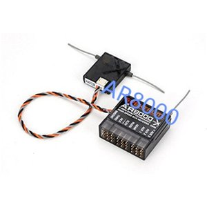 AR8000 8CH 8-channel DSMX Receiver Support DX7,JR DX8 DSM2 DSMX for Multi-quadcopters,Helicopters