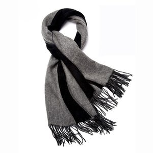 Woman pure wool shawl for autumn and winter women's warm and thickened extra large scarf shawl double sided long style