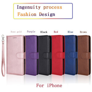 Phone Case Leather Wallet Case Magnetic 2in1 Detachable Cover Cases For iPhone 12 11 Pro xs Max 7 8 Samsung Note10 S10 Plus