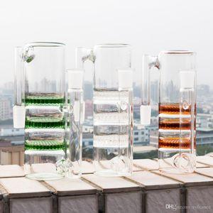Cam Bong için cam kül tutucu recycler üç perc ashcatcher 14mm 18mm Erkek Kadın percolator Bowl adaptör Sigara Aksesuarları