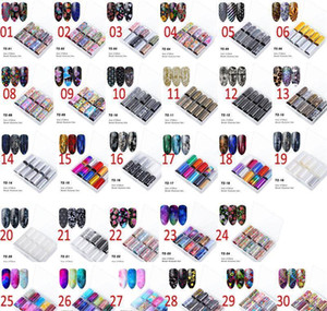 Na063 10 Roller Starry Sky Nail Foils Holographic Transfer Water Decals Nail Art Stickers 4*120cm Diy Image Nail jllqkC comb2010