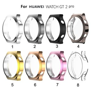 TPU Screen Protector Cover for Huawei Watch GT2 PRO Case Sports Watch Bumper Case Bumper Shell Protector