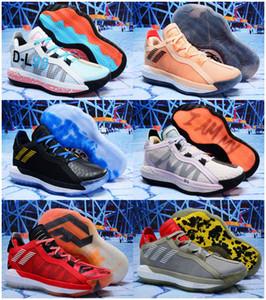 Bestdamian Lillard VI Wildleder 6s 6 6. Bruce Lee Kids Basketballschuhe Herrenschuhe Sports Dame Trainer Sneakers Schnellschiff