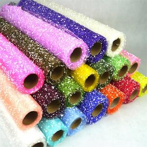 50cm * 4 yardas de nieve Dot Gauze Flowapping Wasbapping Decoration Supplies Suppler Materials FWD3148
