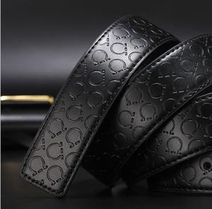 Con Box Mens Donna di lusso Belt Designer Top Belts Nuovo Big Fibbia Uomini Belt Belt Fashion Commercio all'ingrosso Spedizione gratuita