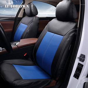 AUTOROWN Car Seat Cover Leather Luxury PU Water-proof Automobiles Seat Covers Brand Classics Covers Car Accessories1