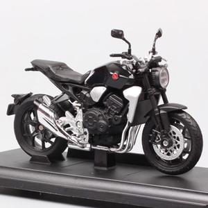 Kinder 1:18 Waage WELLY HONDA CB1000R Bike Motorrad Race Moto Diecasts Spielzeugfahrzeuge Modell Miniatur für Sammlung Y1130