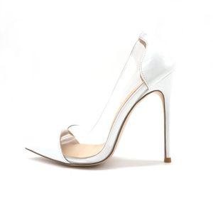 Enviando los pies libres de Fashions Piety Pies Piedle Patent Patent Patent For You Light Stiletto Tacones altos Diez en Zapatos de Mujer TKQ7