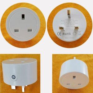 WIFI Smart Wireless Plug Alexa Google Home UE US UK ADAPTADOR REMOTO VOZ / APLICACIÓN Control de la aplicación Power Monitor de energía Temporizador Socket VTKY2052