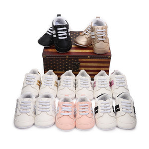 New Children Soft Shoes Striped Boys Girls Sport Running Shoes Baby First Walkers Fashion Bebes Toddler Kid Sneaker