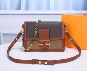 고품질 숄더백 Dauphine 핸드백 크로스 바디 여성 망 지갑 고품질 어깨 totes 호보 더플 가방 포스트맨 가방