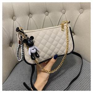 Pink sugao designer crossbody bag chain shoulder designer women shoulder bags new fashion messenger bag purses lady shopping bags