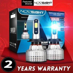 Fari dell'automobile Novsight H7 LED H4 H4 ad alta fascio basso Luces PARO AUTO AUTO Faro Bulbs H1 H3 H11 H8 H13 9006 9005 9007 Vicino Far Light Fog Lamp1