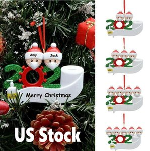 24 ساعة السفينة الولايات المتحدة الأسهم عيد الميلاد حلية diy تحيات 2020 الحجر الصحي حزب حزب الوباء الاجتماعية ري قلادة اكسسوارات 4265