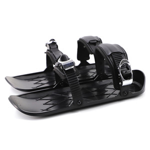 Ski new concept children adult code second generation mini ski shoes snow shoes winter outdoor single sled