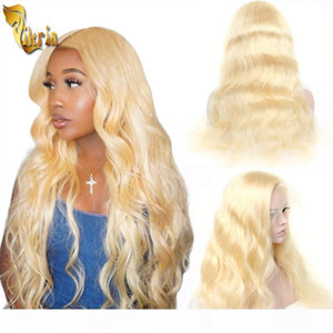 Cheap #613 Blonde Body Wave 13x4 Lace Front Wig Full Lace Human Hair Wig 100% Unprocessed Brazilian Peruvian Malaysian Remy Hair 8~20 inches