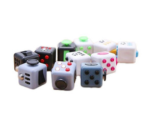 Fidget Cube Toys Stress Relief Squeeze Fun Decompression Anxiety Toys Boredom Attention Magic Cube Toys Fidget busy Gift US STOCK
