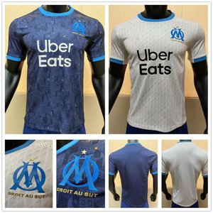Playver Version Olympique de Marseille Soccer Jerseys 9 BENEDETTO 10 PAYET THAUVIN L.GUSTAVO Custom 2020 2021 Home Away Football Shirts