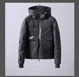 Hot sell! Mens Stylist Coat Printing Parka Winter Jacket Men Winter Feather Overcoat Jacket Men Down Jacket Coat Size M-3XL