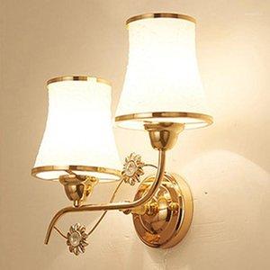 LED 크리스탈 벽 조명 램프 침실 거실 TV 배경 벽 홈 인테리어 B0381