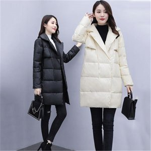 Women's mid-length Cotton-padded Jacket Korean Loose Winter Parkas Jacket 2021 new cocoon-type Down Padded Jackets b564