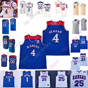 Kansas Jayhawks Basketbol Jersey NCAA Koleji Ochai Agbaji Marcus Garrett Tristan Enaruna Bryce Thompson David McCormack Wilson Enaruna