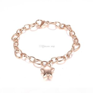 Memorial Link Chain Bracelet Star Urn Cremation Jewelry Bangle Ashes Keepsake Fashion Accessries Cheap Sale