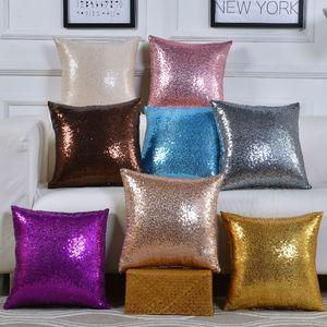 Bletitter Sequins Rodous Case Coll Color Cushion Home Car Удобный декор Талия Подушка Крышка Наволочка 11 Цветов YHM284