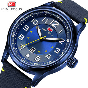 Sport Watch Men 2020 Top Brand Calendar Auto Date Quartz Watches Waterproof Blue Ocean Fashion Army MINI FOCUS