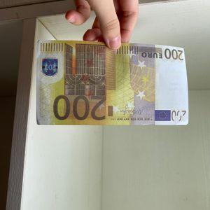 Yeni 10 20 50 100 Euro Sahte Para Kütük Film Para Sahte Kütük Euro 20 Oyun Koleksiyonu ve Hediyeler 236