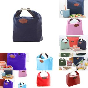 Picnic bag Lunch Pouch Outdoor Carry Tote Container Warmer Cooler Nylon Storage Bags 4 N45KI