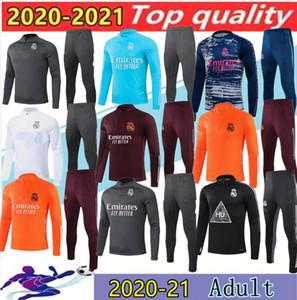 20/21 Реальный Мадрид Футбол Тренировка Suit City Del Chandal 2020 Опасность Benzema Modric CamiSeta de Futbol Jogging Футбольный трексуи
