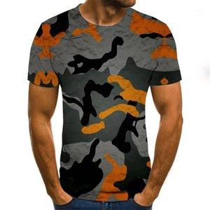 الصيف 2020 3d تي شيرت الرجال الشارع الشهير عارضة المطبوعة قصيرة الأكمام الأزياء الراحة مضحك شيرت camisetas hombre زائد size1