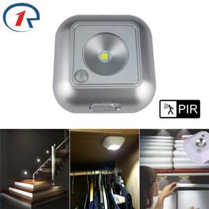 Zjright Smart LED Night Light PIR датчик движения Человеческий корпус индукционного света кухонный шкаф шкаф туалет книжный шкаф мини настенный светильник